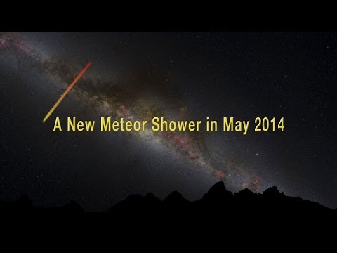 A new meteor shower in May 2014 + ETA fireballs