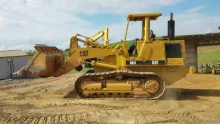 1990 Caterpillar 963 Track Loader For Sale Operating Inspection Video!