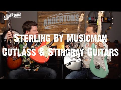 Guitar Paradiso - Sterling By Musicman - Cutlass & Stingray Guitars