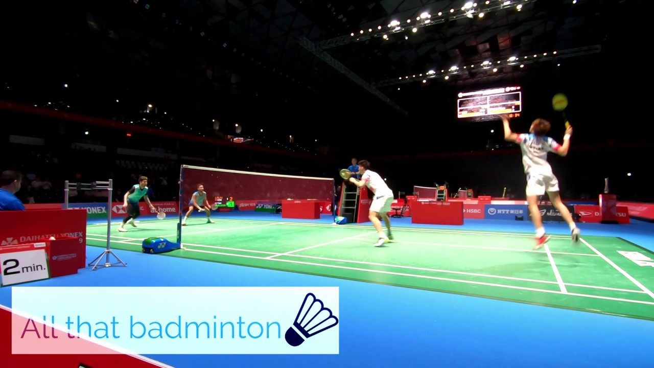 DYJ2019 MD  Li Jun Hui/Liu Yu Chen vs Bodin Isara/Maneepong Jongjit  Set2 Part1