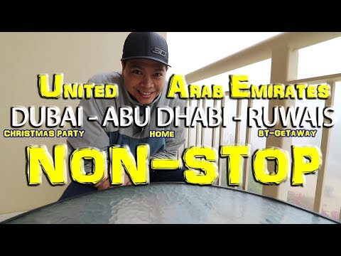 DUBAI - ABU DHABI - RUWAIS
