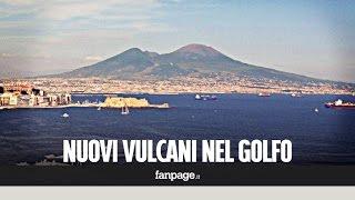 Scoperti sei vulcani sottomarini nel Golfo di Napoli: