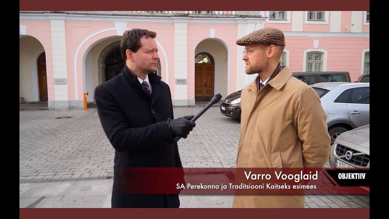 Varro Vooglaid komenteerib 25 000 pöördumise üleandmist Riigikogu fraktsioonidele