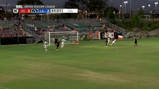 GOAL: Jonathan Hernandez scores a sweet header from a free kick