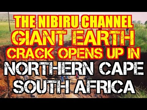Giant Earth Crack Opens up in Northern Cape, South Africa