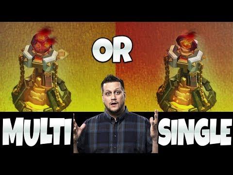 SINGLE TARGET INFERNOS - EVER A GOOD IDEA?  Clash of Clans
