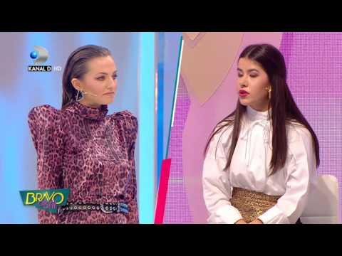 "Bravo, ai stil! - Cristina, posibila concurenta, i-a dat decisiva Denisei: ""Si umerasele defileaza!"""