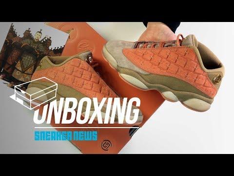Clot Jordan 13 Unboxing + Review