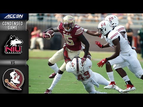 Northern Illinois vs. Florida State Condensed Game | 2018 ACC Football