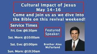 Sunday Morning Worship 5/16