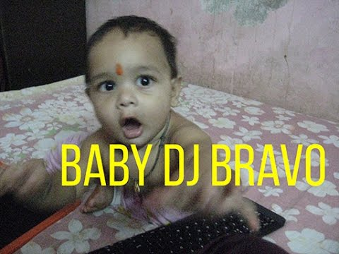 Little Baby Boy Dancing For Champion Dwayne DJ Bravo