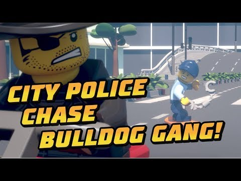 How To Stop A Dynamite Jail Break - A LEGO City Police Chase