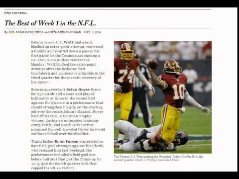 NFL on Yahoo! Sports - News, Scores, Standings, Rumors