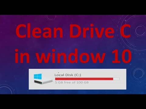 How To Clean Drive C In Window 10 To Make The Computer Fast