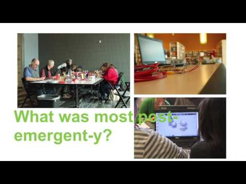 Post-emergent library makerspaces, DML 2016 talk