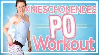 Sehr effektives Knieschonendes Po & Bein Workout   Knack Po Training für zuhause   Ohne Springen