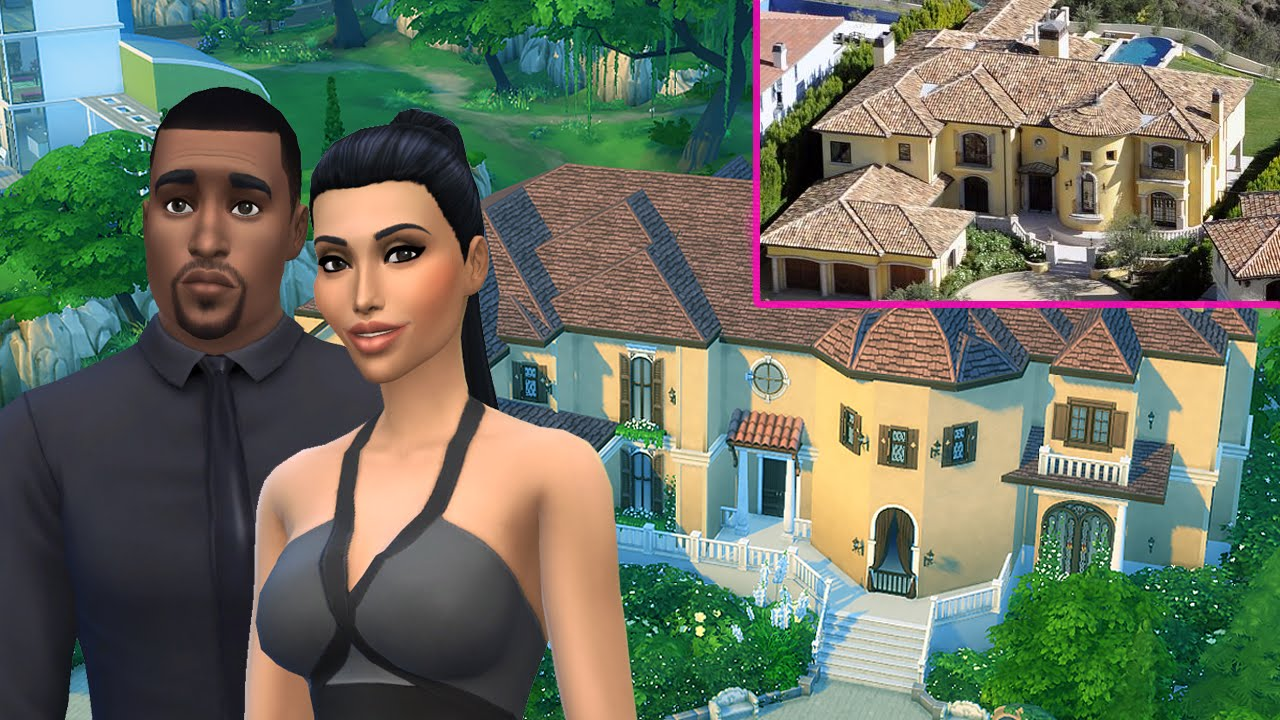 The Sims 3 - Building a Modern Celebrity Mansion - YouTube