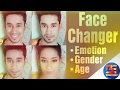 Face changing , gender , age, emotion , Face App• photo• BS