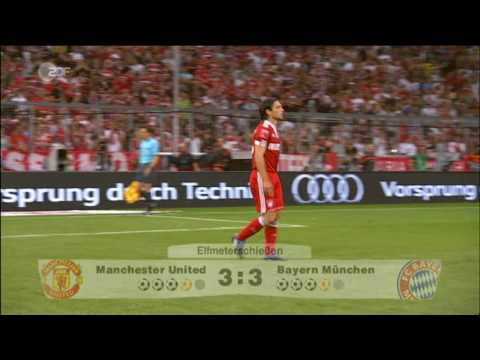 Audi-Cup Finale : Bayern München vs. Manchester United Elfmeterschiessen 30/07/09