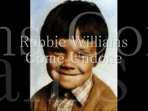 Robbie Williams Come Undone (Daytime pixelated/No swearing)
