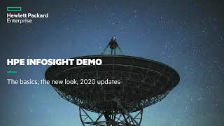 HPE InfoSight Demo - the basics, the new look, 2020 updates