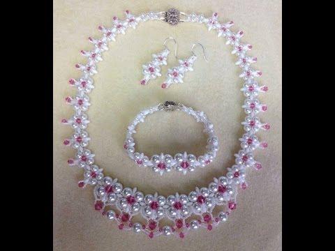 (Tutorial) Dream Wedding Necklace Set PART 1 (Video 58)