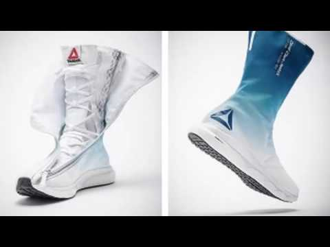 Reebok: presents innovative space boots for future astronauts.