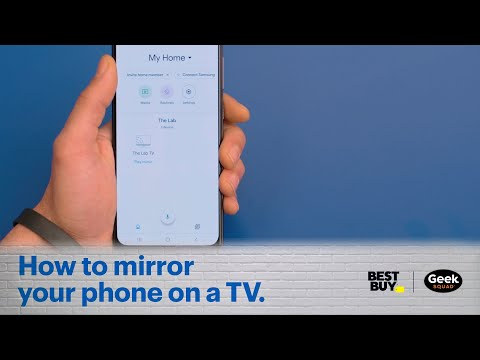 Tech Tips: How To Mirror Your Phone On A TV.