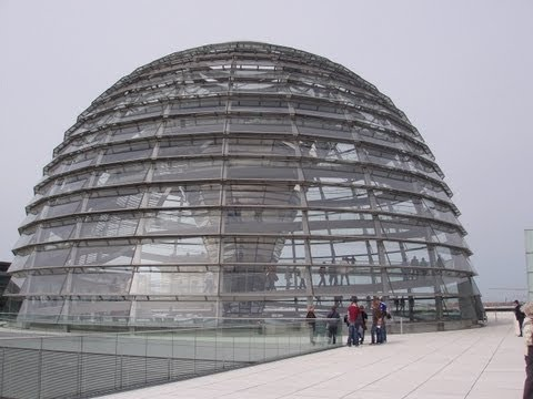 ON THE ROOF OF THE REICHSTAG, BERLIN