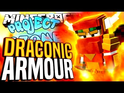 Minecraft - DRACONIC ARMOUR - Project Ozone #136
