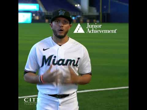 Junior Achievement | CITY Furniture Test Rest with Miguel Rojas, Miami Marlins