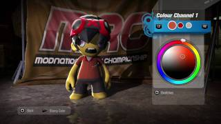 ModNation Racers - Showroom - Character Editor - PS3