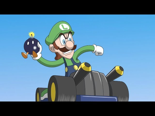 Sonic in Mario Kart Animation Preview - Game Shenanigans - AVAILABLE NOW!