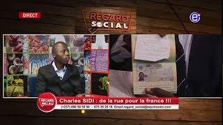 REGARD SOCIAL (CHARLES SIDI DE LA RUE POUR LA FRANCE) DU 21 FEVRIER 2019 EQUINOXE TV