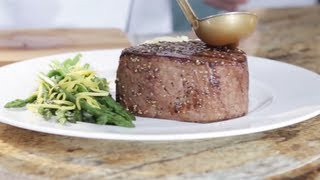 Cooking with Omaha Steaks: The Filet Mignon