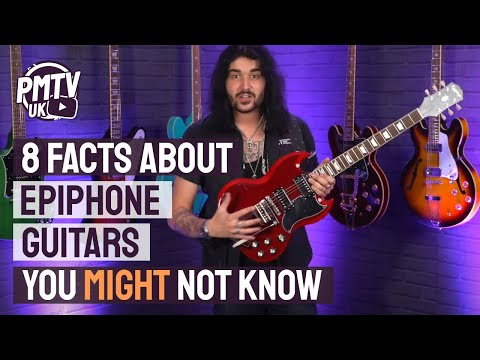 8 Awesome Facts, That You (Probably) Didn&39;t Know, About Epiphone Guitars!