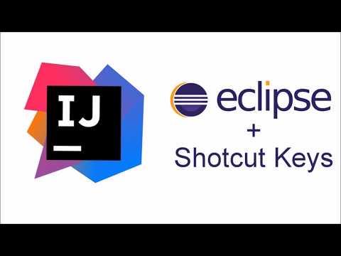 Eclipse shortcut keys on Intellij using Keymap - YouTube