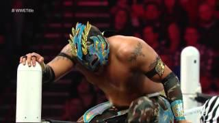 Kalisto vs  Alberto Del Rio   WWE World Heavyweight Championship Tournament Quarterfinal Match  Raw,