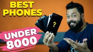 TOP 5 BEST MOBILE PHONES UNDER 8000 (Dec 2018) ⚡⚡⚡ GUESS THE BEST?