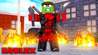 BECOMING DEADPOOL IN ROBLOX
