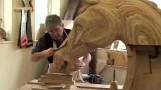**new** Carving A Rocking Horse Head :: Www.rockinghorse.co.uk
