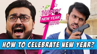 How to Celebrate New Year l Sajid Ali & Connect Kashan