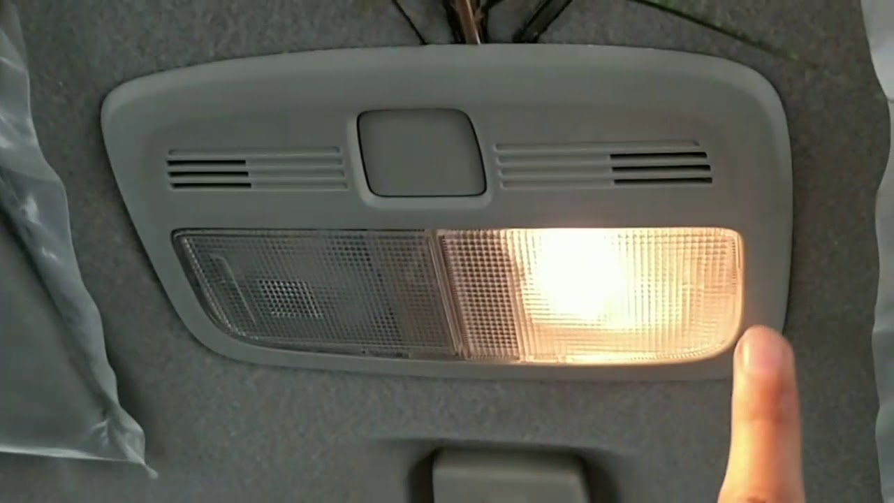 How to install led dome light in your car  interior roof