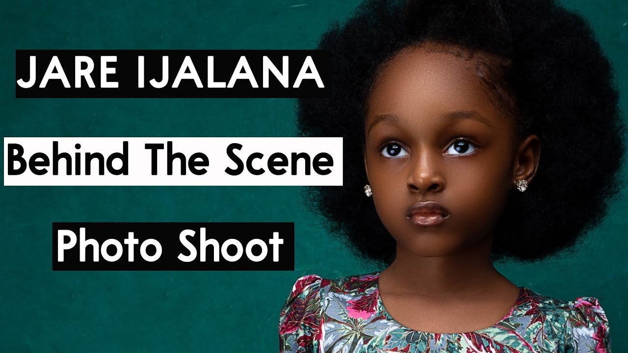 Jare Ijalana: The Most Beautiful Girl In The World, Behind The Scene  Photoshoot Session - YouTube