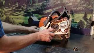 Chainsaw Guy Shop Talk Stihl Ms Clutch Repairs