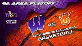 KWES LIVE: Area Playoff  Basketball Game - Weslaco Panthers vs Laredo United Longhorns