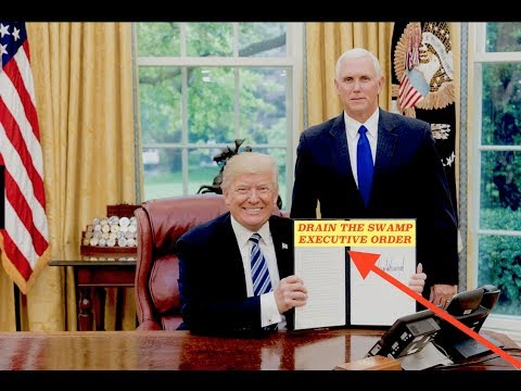 Donald Trump Drains the Swamp w/ Executive Order & War is Closer Then You Think