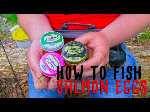 How To Fish Salmon Eggs In Creeks