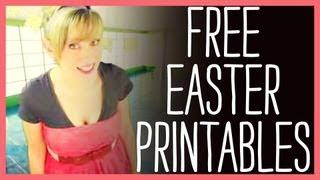 Easter Printables, Free Easter Printables