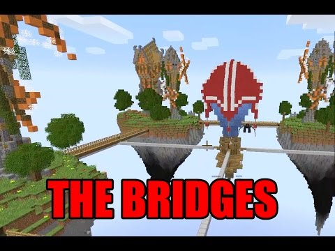 The Bridges - Minecraft Brand New Maps Mini Game Play with Radiojh Audrey Games